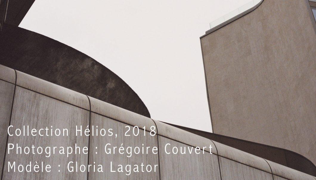 Noir d'Orion, lookbook Hélios, Grégoire Couvert, Gloria Lagator