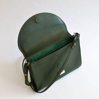 Noir d'Orion mini sac Hélios vert - intérieur