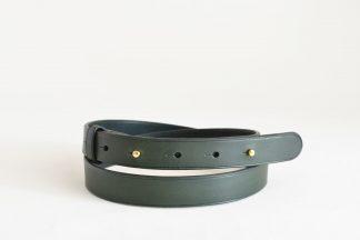ceinture à boutons de col - vert forêt