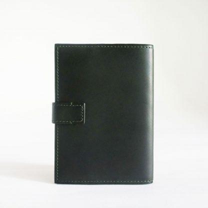 Porte-passeport vert forêt - dos