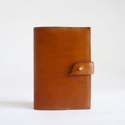 Porte-passeport ou porte-carnet fauve - face