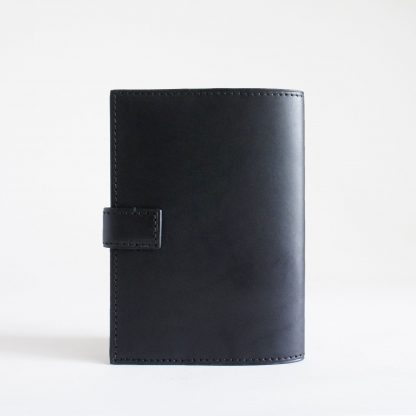 Noir d'Orion porte-passeport ou porte-carnet noir - dos