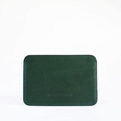 Noir d'Orion - porte-cartes 3 poches vert dos