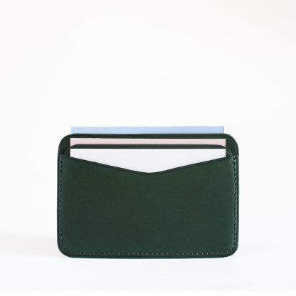 Noir d'Orion - porte-cartes 3 poches vert forêt
