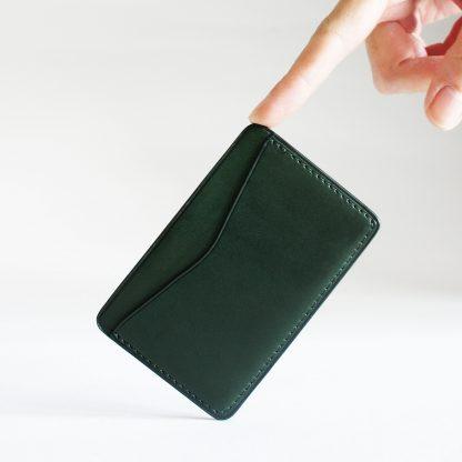 Noir d'Orion - porte-cartes vert