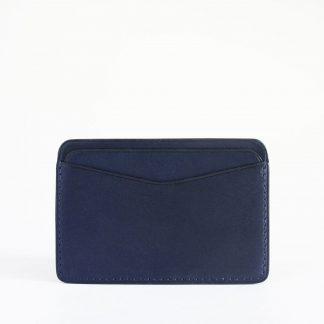 Noir d'Orion - porte-cartes bleu nuit