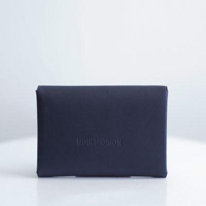 Noir d'Orion - Porte-monnaie Astrée bleu - dos