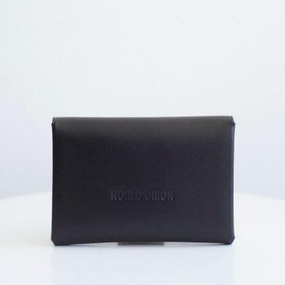 Noir d'Orion - Porte-monnaie Astrée noir - dos