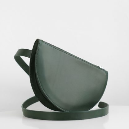 Noir d'Orion - Sac banane Eclipse vert